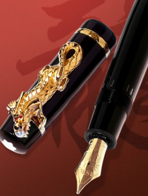 Montblanc_Year of the Golden Dragon_Limited Edition_Usta Saati