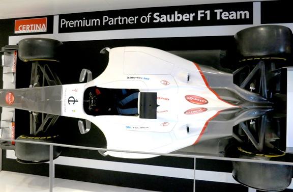 Certina_Sauber F1 Team_Usta Saati