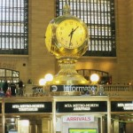 NEW YORK'UN BULUŞMA NOKTASI : 'THE GRAND CENTRAL TERMINAL CLOCK