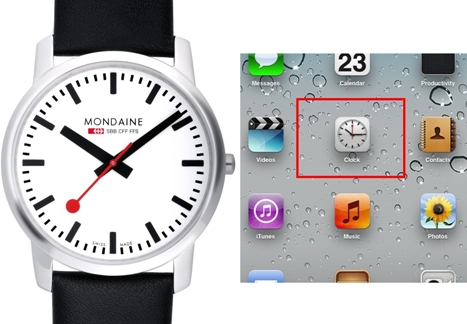 iphone mondaine